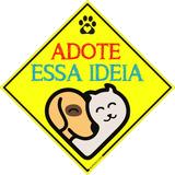 Placas Decorativas Pet Shop Adote Essa Ideia Cão De Rua