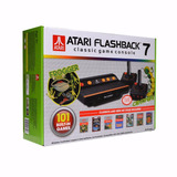 Vídeo Game Atari Flashback 7 Com 101 Jogos E 2 Controles