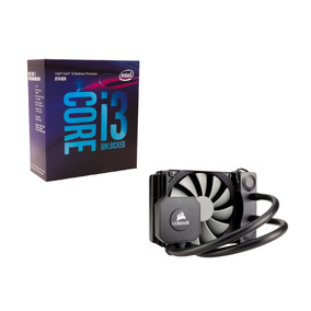 Kit Intel Core I3-8350k 8ag + Watercooler H45 Corsair
