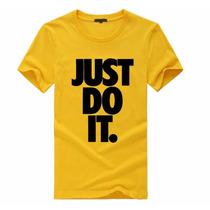 Camiseta Lançamento Nike Just Do It -blusa Top -frete Grátis