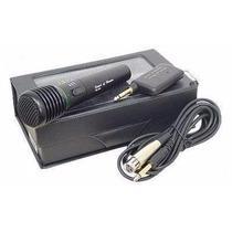 Microfone Sem Fio De Mão Wg-308e Com Estojo - Mercadoenvios