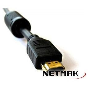 Cable Hdmi A Hdmi De 5mts Netmak