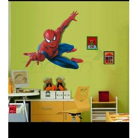Pegatinas Decorativas Para Habitación *spider Man