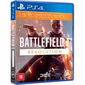 Battlefield 1 Revolution - Ps4 - Novo - Mídia Física