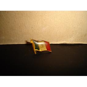 Antiguo Pin De Bandera De México Ondenando - 70