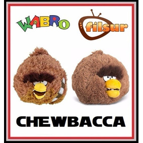 Chewbacca Angry Birds Star Wars Peluche 13 Cm. Sonido Filsur