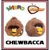 Chewbacca Angry Birds Star Wars Peluche 13 Cm. Sonido Filsur