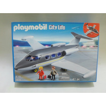 Playmobil Set 5619 Avion Privado Marca Geobra Del 2012 Nuevo