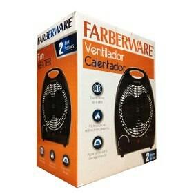 Calefactor Calentador Farberware Negro 26 Cm Envio Gratis