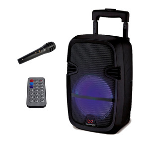 Parlante Portátil Daewoo Blast 15 Pulgadas Karaoke Bt Micro