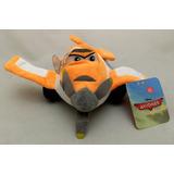 Boneco Pelúcia Pequeno Avião Dusty Aviões Disney