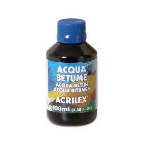 Betume Solúvel Em Água - Acqua Betume 100ml - Acrilex