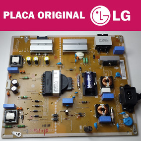 Placa Fonte Tv Lg Smart Led 55lh6000 Full Hd 1080p Original!