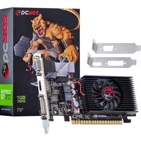 Placa De Vídeo Gamer Vga Nvidia Gt210 1gb Ddr3 64bits