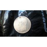 5 Bs De Plata Estados Unidos De Venezuela De 1886