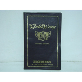 Manual Honda Goldwing Gl1500 1988 - Changoosx