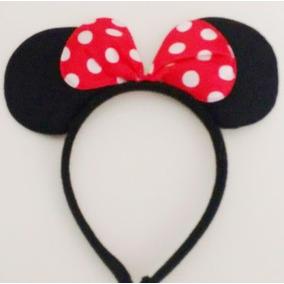 50 Diadema Mimi Y Mickey Mouse, Orejas Moño Minnie,fiesta