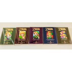 Panini Manga Akira Himekawa The Legend Of Zelda - 5 Libros