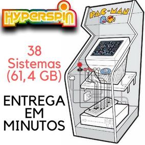 Hyperspin 38 Sistemas (61,4 Gb)!!! Já Configurados!!!