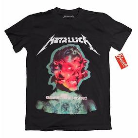 Playera Metallica Oficial Rock Tallas Original Grupos Metal