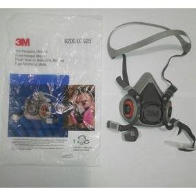 Kit Respirador 3m De Media Cara 6200/07025 Con Filtros