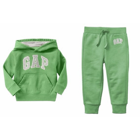 Conjunto Moletom Gap Infantil Blusa De Frio + Calça Original