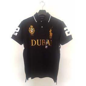 Playera Polo Ralph Lauren Alusiva Dubai L Y Xl Custom Fit !