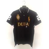 Playera Polo Ralph Lauren Alusiva Dubai M A Xxl Custom Fit !