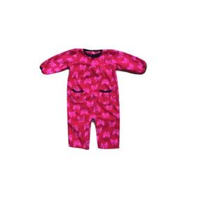 Jumpsuit Carters Rojo Con Moñitos Talla 6 Meses