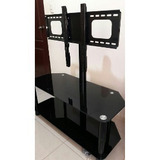 Mesa Mueble Tv De Lujo Moderna Con Base Tv 32 Hasta 60