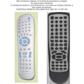 Controle Remoto Diplomat Dvp Oke 351 11 Fbt 222
