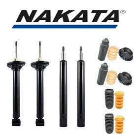 Kit 4 Amortecedores Dianteiros E Traseiros Gol G2-nakata Bff