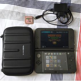 Nintendo 3ds Xl, Acompanha Jogos (ler Descrição), Cabo, Case