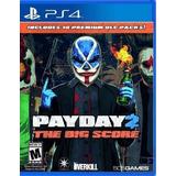 Payday 2 The Big Score Ps4 Fisico Nuevo Sellado
