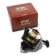 Reel Shimano Fx4000 180mts/0.30mm 8,5kgs De Freno!!!
