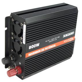Inversor Transformador Conversor De Energia 800w 12v 110v