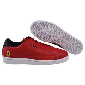 Tenis Puma Sf Match Ferrari Rojo Hombre Nuevos 306002 01