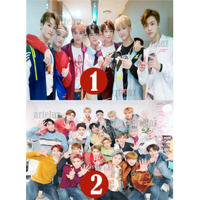 Posters Nct 10 Unidades 32x47 Cm