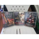 Dvds Trilogia A Morte Do Demônio (uma Noite Alucinante)