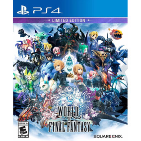 World Of Final Fantasy Limited Ed. Nuevo Ps4 Fisico Dakmor