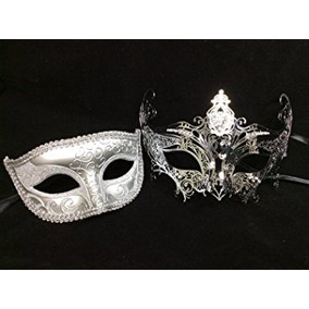 Disfraz Parejas De La Mascarada Máscaras Venecianas Del Dis