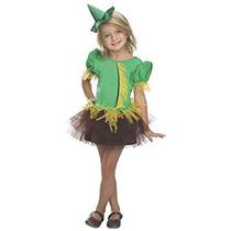Disfraz Para Niña Rubíes Mago De Oz Espantapájaros Tutú Del