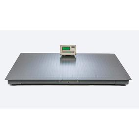 Bascula Plataforma Capacidad 2 Ton Lcd Digital Electrónica.
