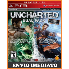 Uncharted Greatest Hits Dual Pack Ps3 Psn
