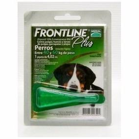 Desparasitante Frontline Plus 40-60kgs Merial Perro Mascota