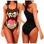 Body Plus Size Taz Looney Tunes Engraçada Sátira Geek Suplex
