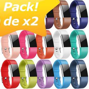 2x Correa Fitbit Charge 2 Diseño Original Pack!
