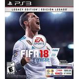 Fifa 18 Ps3 Original Playstation 3