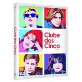 Clube Dos Cinco Dvd Dublado Decada De 80 John Hughes