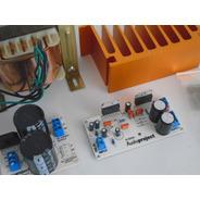 Amplificador Audioproject 200w /4ohms Fuente Trafo Disipador